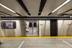 Stazione della metropolitana a Toronto, Canada immagine stock libera da diritti