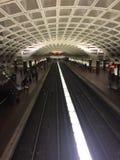 Stazione della metropolitana in Washington DC fotografia stock