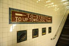 Stazione della Pensilvania, Manhattan, NY, U.S.A. Fotografia Stock