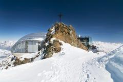 Stazione della sommità di Gaislachkogel, Austria Immagini Stock