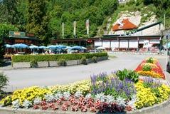Stazione della valle del Pilatusbahn in Alpnachstad Immagini Stock