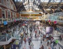Stazione della via di Liverpool a Londra Immagine Stock Libera da Diritti