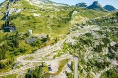 Stazione dello sci di estate Fotografie Stock