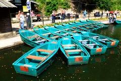 Stazione di affitto della barca Fotografia Stock Libera da Diritti