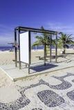Stazione di allenamento sulla spiaggia di Ipanema, Rio de Janeiro Immagini Stock