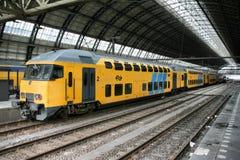 Stazione di Amsterdam Fotografia Stock Libera da Diritti