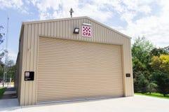 Stazione di autorità del fuoco del paese in Buxton Fotografie Stock