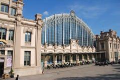 Stazione di Barcellona Nord in Spagna Immagini Stock Libere da Diritti