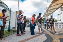 Stazione di Beppu Fotografia Stock Libera da Diritti