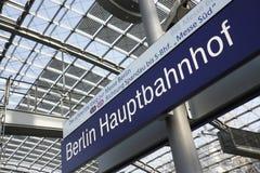 Stazione di Berlino Fotografia Stock