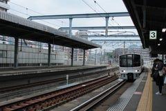 Stazione di Chihaya, Fukuoka, Giappone Fotografie Stock