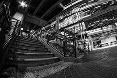 Stazione di collegamento dell'aeroporto di Ramkhamhaeng, Bangkok Fotografia Stock