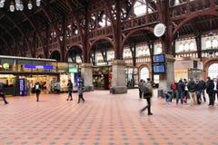 Stazione di Copenhaghen Fotografia Stock