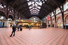 Stazione di Copenhaghen Fotografie Stock Libere da Diritti