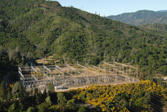 Stazione di distribuzione di energia Fotografia Stock