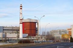 Stazione di energia nucleare Immagine Stock