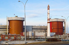 Stazione di energia nucleare Ucraina, Nikolaevskaya Immagine Stock Libera da Diritti