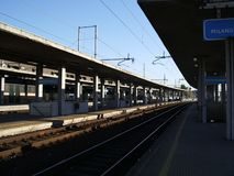Stazione di ferrovia 2 Immagini Stock