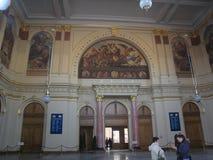 Stazione di ferrovia, Kecskemet, Ungheria immagine stock