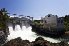 Stazione di forza idroelettrica Immagini Stock Libere da Diritti