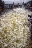Stazione di forza idroelettrica in Imatra immagine stock libera da diritti