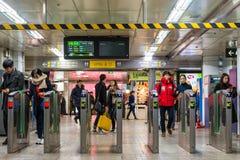 Stazione di Gangnam Immagini Stock Libere da Diritti