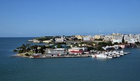 Stazione di guardia costiera San Juan fotografia stock libera da diritti