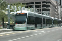 Stazione di guida della metropolitana, Phoenix, AZ Fotografie Stock Libere da Diritti