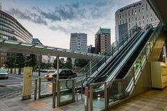 Stazione di Hakata Fotografia Stock