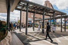 Stazione di Hirosaki Fotografia Stock