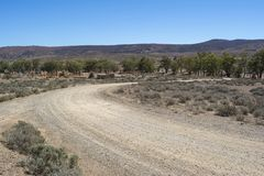 Stazione di Kanyaka, Kanyaka, Australia Meridionale fotografia stock libera da diritti