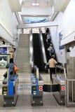 Stazione di Kobe Sannomiya Fotografie Stock Libere da Diritti