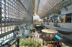 Stazione di Kyoto Fotografia Stock