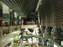 Stazione di Kyoto, architettura moderna Fotografie Stock Libere da Diritti