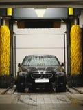 Stazione di lavaggio dell'automobile Fotografia Stock