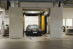 Stazione di lavaggio dell'automobile Immagine Stock