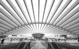 Stazione 2 di Lisbona Oriente Fotografia Stock Libera da Diritti