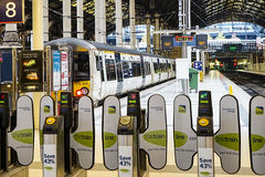 Stazione di Londra Paddington Immagine Stock