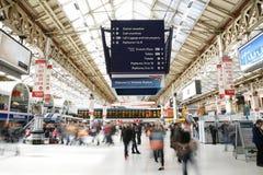 Stazione di Londra Victoria Immagine Stock