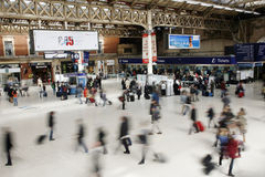 Stazione di Londra Victoria Fotografia Stock