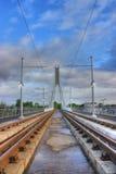 Stazione di Luas a Dublino Irlanda Immagine Stock