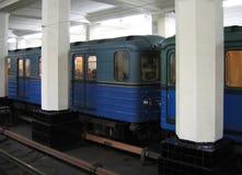 Stazione di metro Immagini Stock