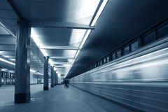 Stazione di metro immagini stock libere da diritti
