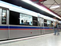 Stazione di metro fotografia stock libera da diritti