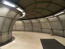 Stazione di metro vuota a Bilbao Fotografia Stock