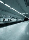 Stazione di metropolitana fotografie stock libere da diritti