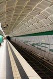 Stazione di metropolitana sotterranea Immagini Stock Libere da Diritti