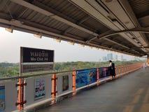 Stazione di Mochit bts Fotografie Stock