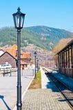 Stazione di Mokra Gora fotografie stock libere da diritti