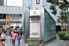 Stazione di monitoraggio di qualità dell'aria Immagini Stock